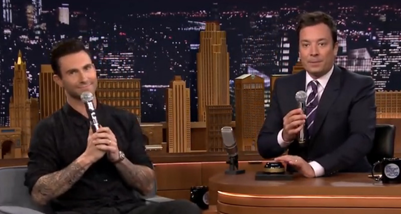 Adam Levine's Singer Impressions Are Mind Blowingly Great